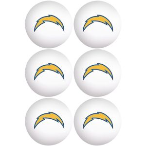 San Diego Chargers Pong Balls 6ct
