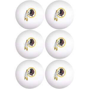 Washington Redskins Pong Balls 6ct