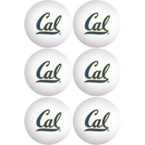 Cal Bears Pong Balls 6ct
