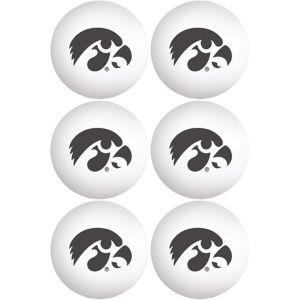Iowa Hawkeyes Pong Balls 6ct