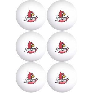 Louisville Cardinals Pong Balls 6ct