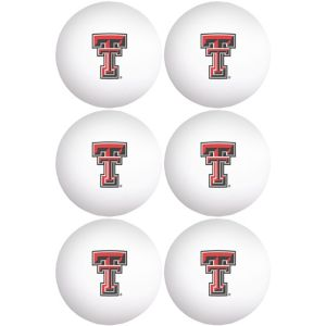 Texas Tech Red Raiders Pong Balls 6ct