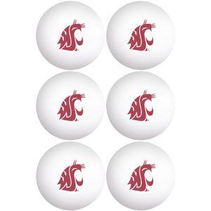 Washington State Cougars Pong Balls 6ct