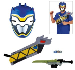 Blue Ranger Accessory Kit 4pc - Power Rangers Dino Super Charge