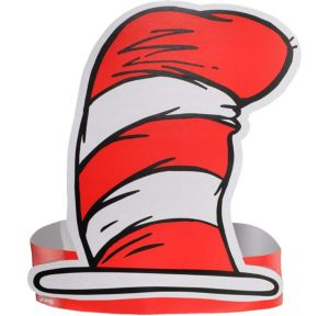 Cat in the Hat Paper Hats 36ct - Dr. Seuss