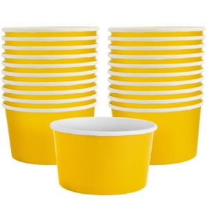 Sunshine Yellow Treat Cups 20ct