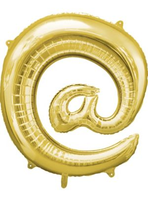 Giant Gold At Symbol Balloon