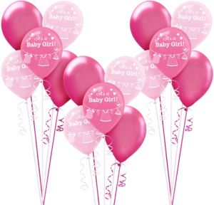 It's a Girl Baby Shower Balloon Kit 30ct