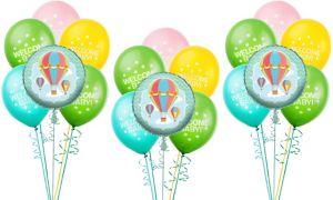 Up & Away Baby Shower Balloon  Kit 18ct