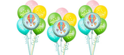 Up & Away Baby Shower Balloon  Kit 18ct