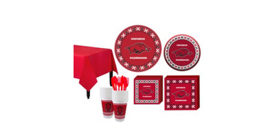 Arkansas Razorbacks Basic Fan Kit