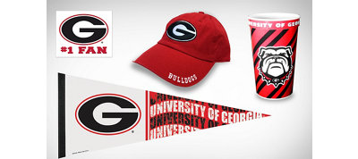 Georgia Bulldogs Collegiate Care Package