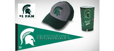 Michigan State Spartans Collegiate Care Package