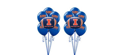 Illinois Fighting Illini Balloon Kit