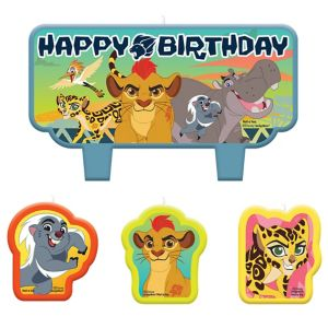 Lion Guard Birthday Candles 4ct