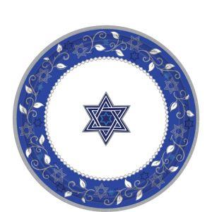 Joyous Holiday Passover Dessert Plates 8ct