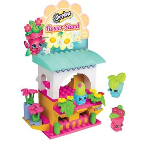 Flower Stand Shopkins Playset 101pc
