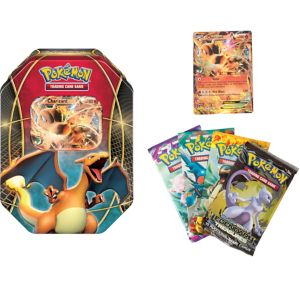 Pokemon Trading Card Game Charizard Tin
