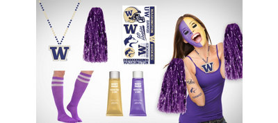 Washington Huskies Fan Gear Kit