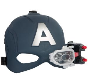 Light-Up Scope Vision Captain America Mask 3pc