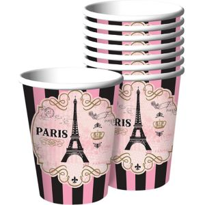 A Day in Paris Cups 8ct