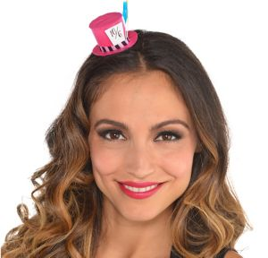 Mini Mad Tea Party Top Hat Hair Clip
