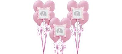 Pink Baby Elephant Balloon Kit 18ct