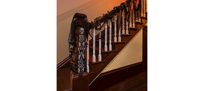 Haunted House Staircase Decorating Kit