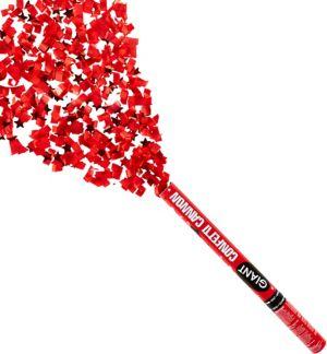Giant Red Graduation Confetti Cannon