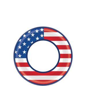 American Flag Dessert Plates 40ct
