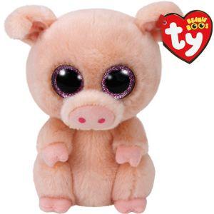 Piggley Beanie Boo Pig Plush