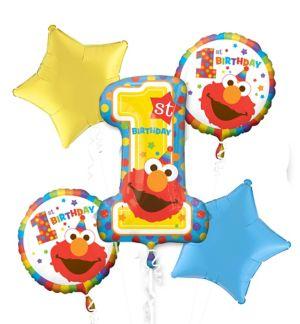 Sesame Street Balloon Bouquet 5PC