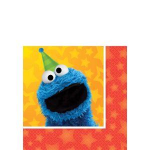 Sesame Street Beverage Napkins 16ct