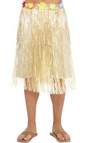Adult Long Hula Skirt
