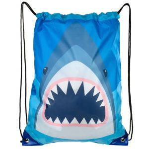 Shark Drawstring Backpack