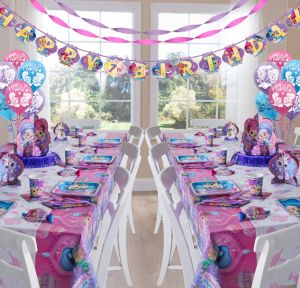 Shimmer and Shine Deluxe Party Kit for 16 Guests