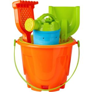 Sand Bucket Beach Toy Set 8pc
