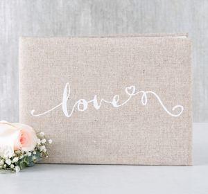 Love Burlap Guest Book