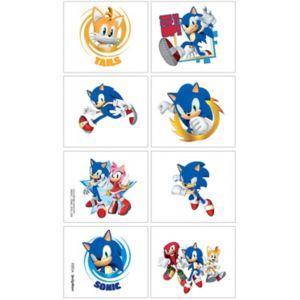 Sonic the Hedgehog Tattoos 1 Sheet
