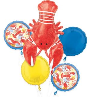 Seafood Fest Balloon Bouquet 5pc