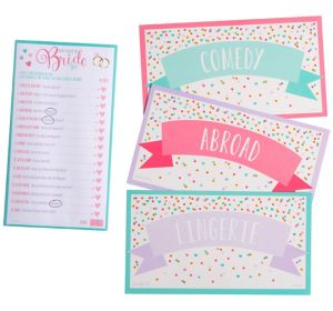 What Would the Bride Say Bridal Shower Game