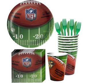 NFL Drive Basic Party Kit for 18 Guests