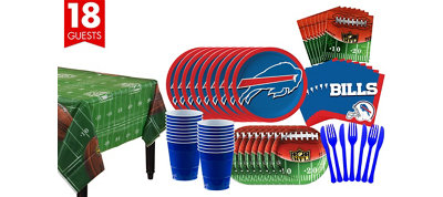 Buffalo Bills Super Party Kit for 18 Guests