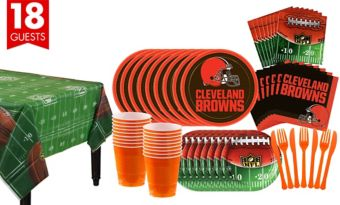 Cleveland Browns Super Party Kit for 18 Guests