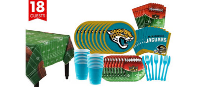 Jacksonville Jaguars Super Party Kit for 18 Guests