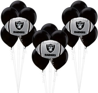 Oakland Raiders Balloon Kit