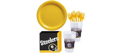 Pittsburgh Steelers Basic Party Kit for 18 Guests