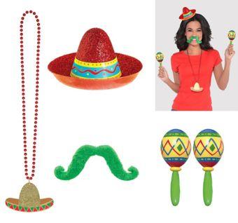 Sombrero Fiesta Accessory Kit