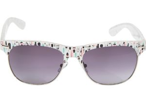 White Feather Sunglasses