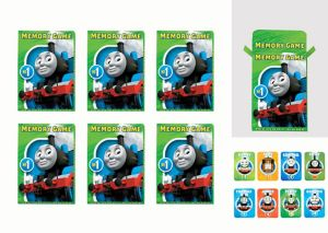 Thomas the Tank Engine Memory Match Games 6ct